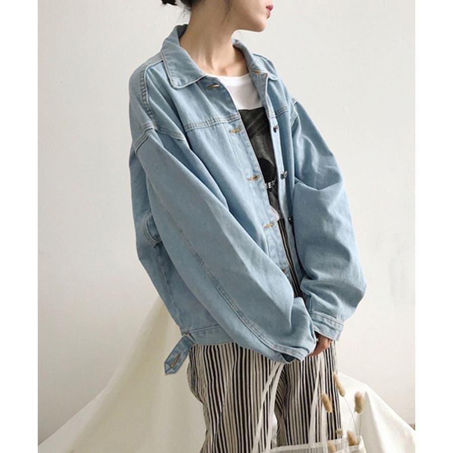 【c.u.l】 オーバーサイズ デニムジャケット Gジャン  chw553 4380 5