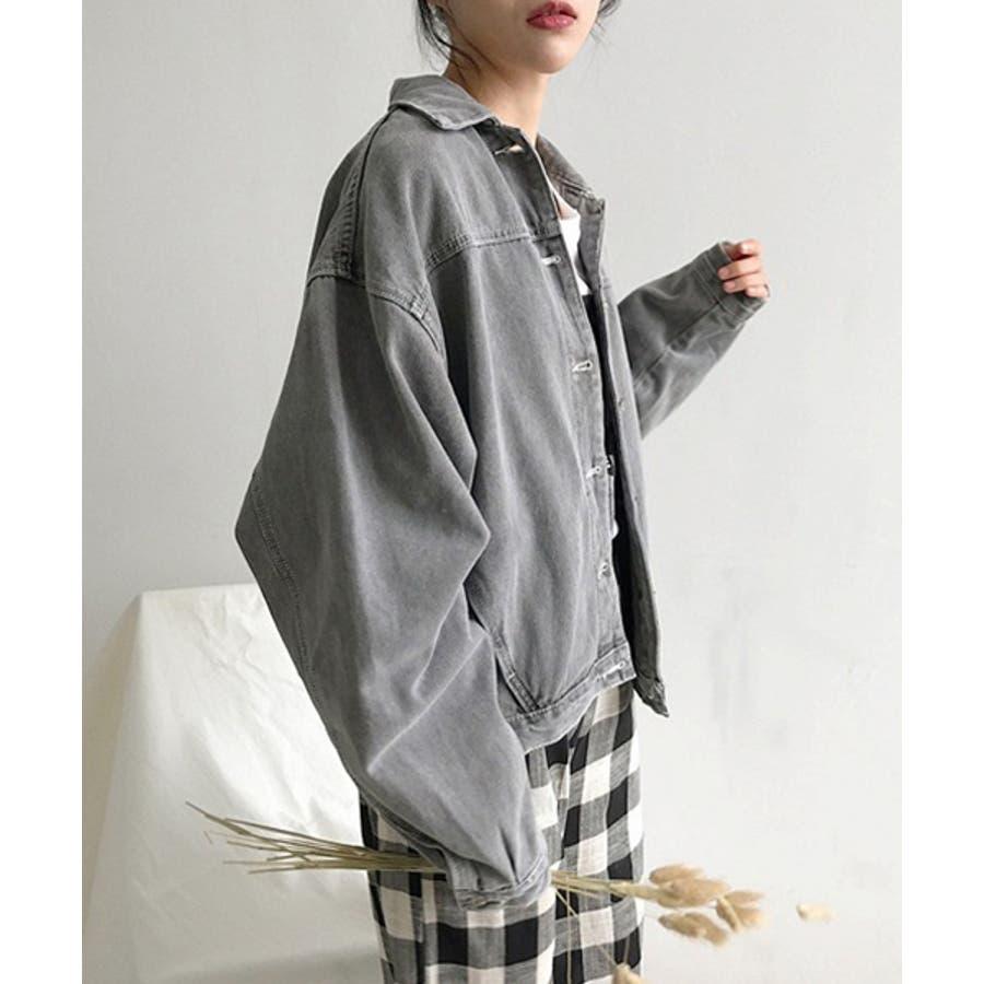 【c.u.l】 オーバーサイズ デニムジャケット Gジャン  chw553 4380 7