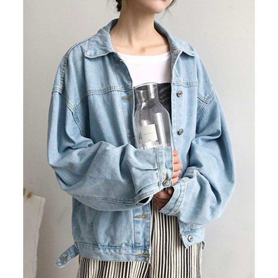 【c.u.l】 オーバーサイズ デニムジャケット Gジャン  chw553 4380 70