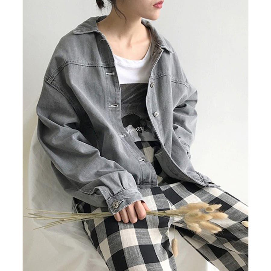 【c.u.l】 オーバーサイズ デニムジャケット Gジャン  chw553 4380 24