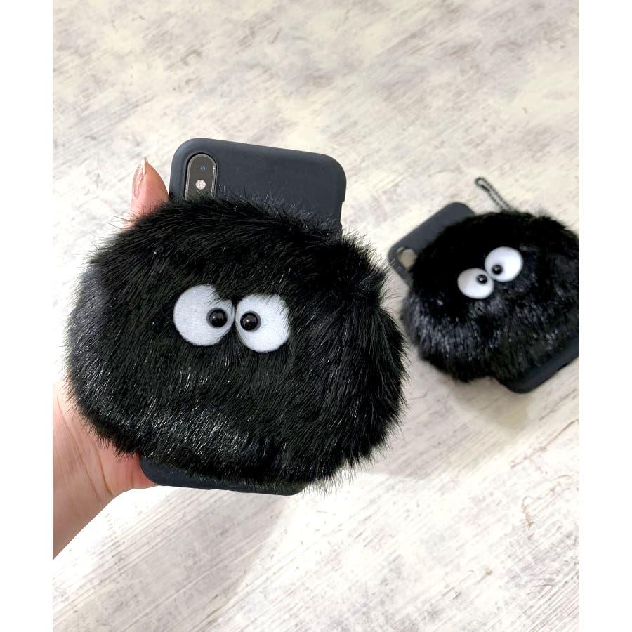 スマホケース iPhone7 iPhone8 iPhonex iPhone ケース iPhone6 6 6Plus 7 7Plus88Plus スマホケース x iPhoneケース iphoneカバー かわいい スマホケース スマホカバー おしゃれ ふわふわファーモンスター ポーチ コインケース カードケース SE2 ipc67 1