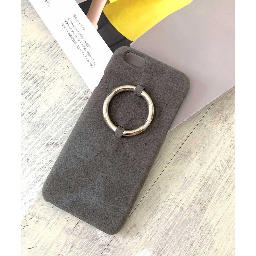 スマホケース iPhone7 iPhone8 iPhonex iPhone ケース iPhone6 6 6Plus 7 7Plus88Plus スマホケース x iPhoneケース iphoneカバー かわいい スマホケース スマホカバー おしゃれレザー風スエード調 リングデザイン ブラック ピンク SE2 ipc81 23