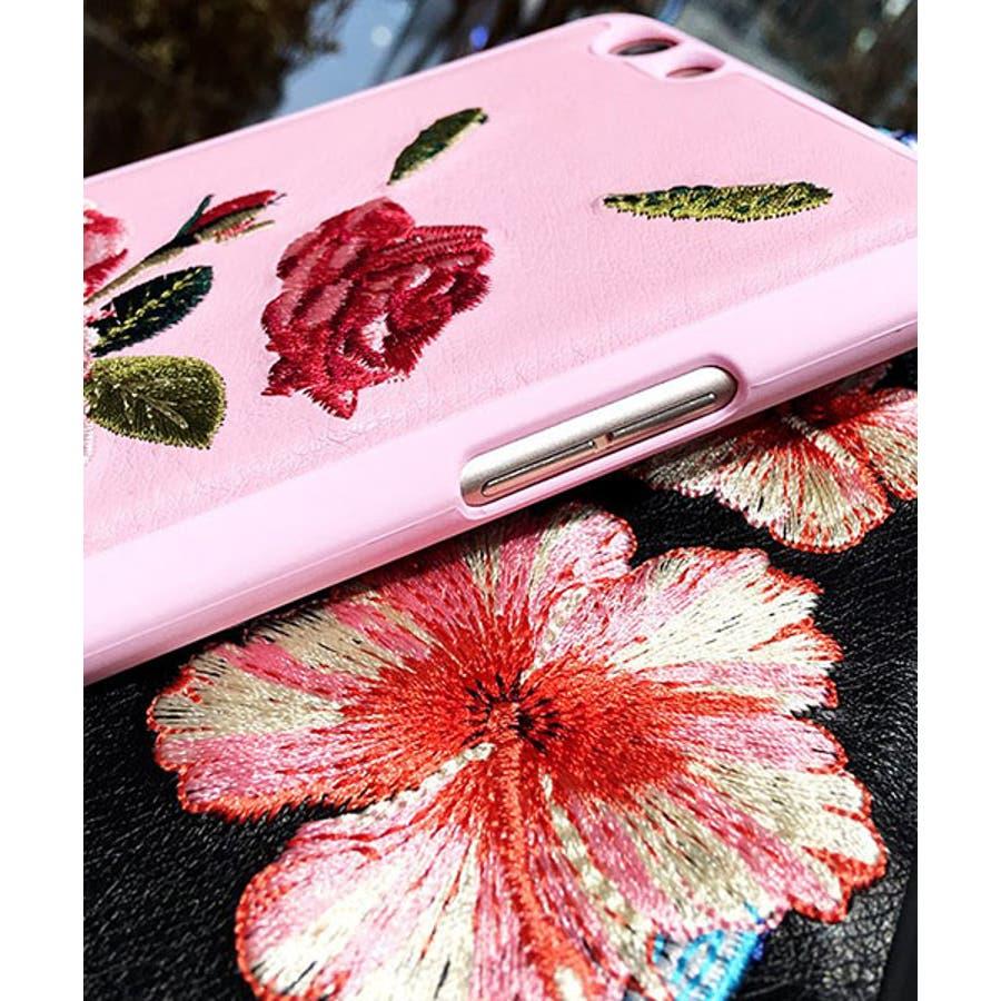 スマホケース iPhone7 iPhone8 iPhonex iPhone ケース iPhone6 6 6Plus 7 7Plus88Plus スマホケース x iPhoneケース アイフォン かわいい スマホカバー おしゃれ お花 ハイビスカス バラ 刺繍SE2 ipc91 5
