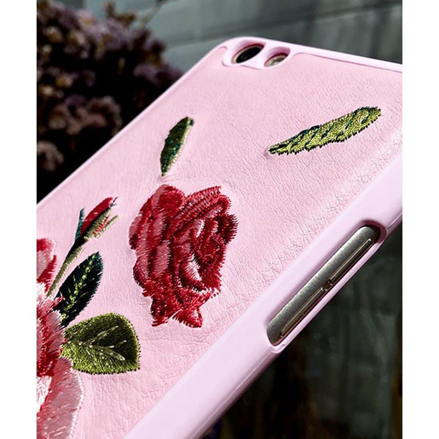 スマホケース iPhone7 iPhone8 iPhonex iPhone ケース iPhone6 6 6Plus 7 7Plus88Plus スマホケース x iPhoneケース アイフォン かわいい スマホカバー おしゃれ お花 ハイビスカス バラ 刺繍SE2 ipc91 6