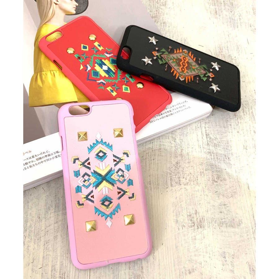 スマホケース iPhone7 iPhone8 iPhonex iPhone ケース iPhone6 6 6Plus 7 7Plus88Plus スマホケース x iPhoneケース iphoneカバー ブラック かわいい オルテガ柄 スマホカバー おしゃれ 刺繍SE2 ipc92 1