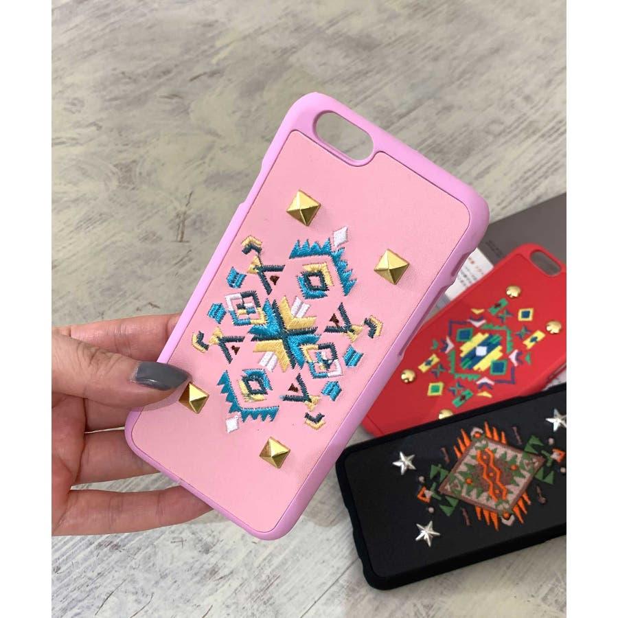 スマホケース iPhone7 iPhone8 iPhonex iPhone ケース iPhone6 6 6Plus 7 7Plus88Plus スマホケース x iPhoneケース iphoneカバー ブラック かわいい オルテガ柄 スマホカバー おしゃれ 刺繍SE2 ipc92 2