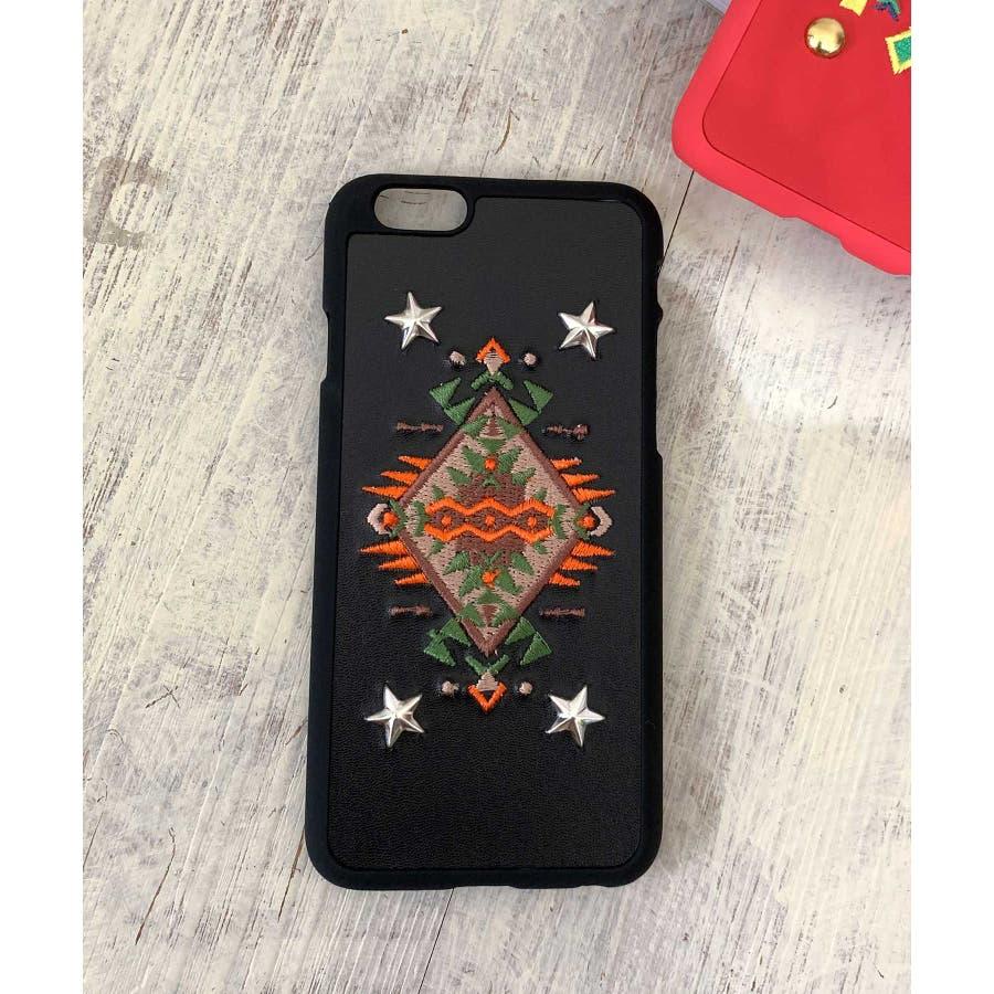 スマホケース iPhone7 iPhone8 iPhonex iPhone ケース iPhone6 6 6Plus 7 7Plus88Plus スマホケース x iPhoneケース iphoneカバー ブラック かわいい オルテガ柄 スマホカバー おしゃれ 刺繍SE2 ipc92 6