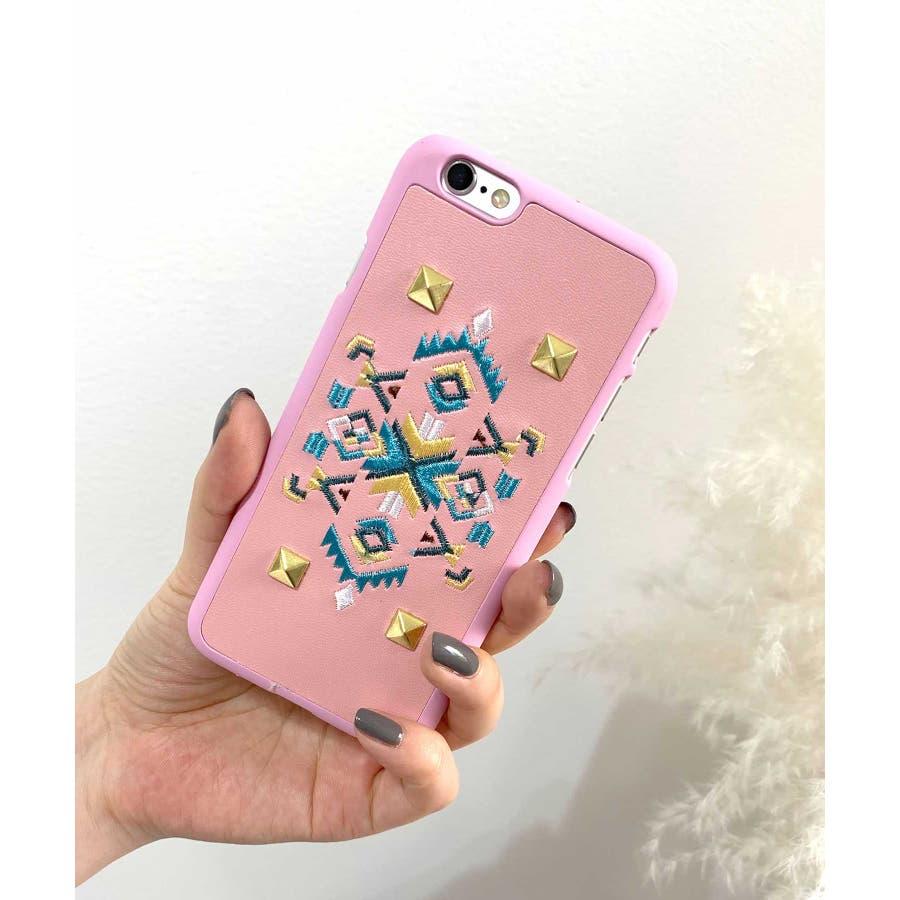 スマホケース iPhone7 iPhone8 iPhonex iPhone ケース iPhone6 6 6Plus 7 7Plus88Plus スマホケース x iPhoneケース iphoneカバー ブラック かわいい オルテガ柄 スマホカバー おしゃれ 刺繍SE2 ipc92 88