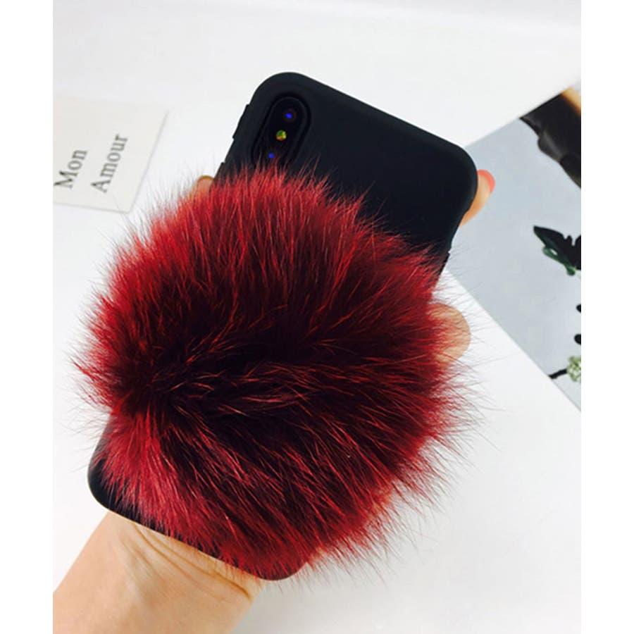 スマホケース iPhone7 iPhone8 iPhonex iPhone ケース iPhone6 6 6Plus 7 7Plus 88Plus スマホケース x iPhoneケース iphoneカバー かわいい スマホカバー おしゃれ ブラック ふわふわファー落下防止 ベルトストラップ SE2 ipc155 94
