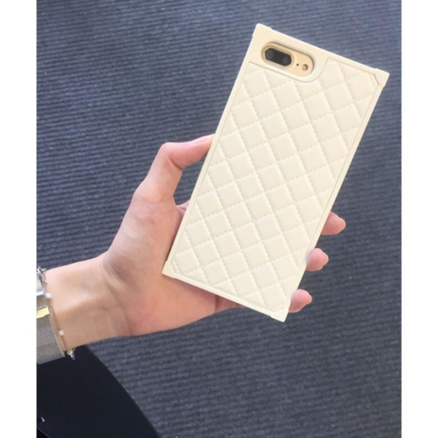スマホケース iPhone7 iPhone8 iPhonex iPhone ケース iPhone6 6 6Plus 7 7Plus 88Plus スマホケース x iPhoneケース iphoneカバー かわいい スマホケース スマホカバー おしゃれ スクエアキルティング 四角 レザー調 ピンク ブラック ホワイト SE2 ipc164 5