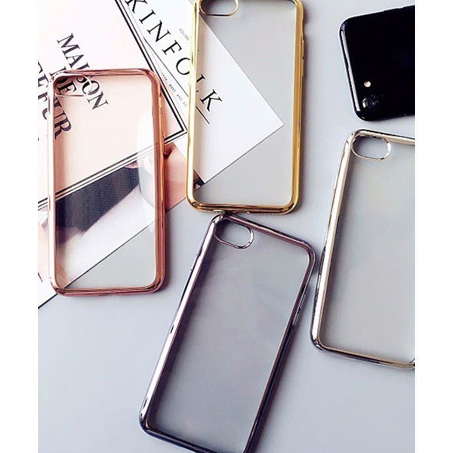 スマホケース iPhone7 iPhone8 iPhonex iPhone ケース iPhone6 6 6Plus 7 7Plus88Plus スマホケース x iPhoneケース iphoneカバー かわいい スマホケース スマホカバー おしゃれバンパー風背面クリア メタリック SE2 ipc169 10