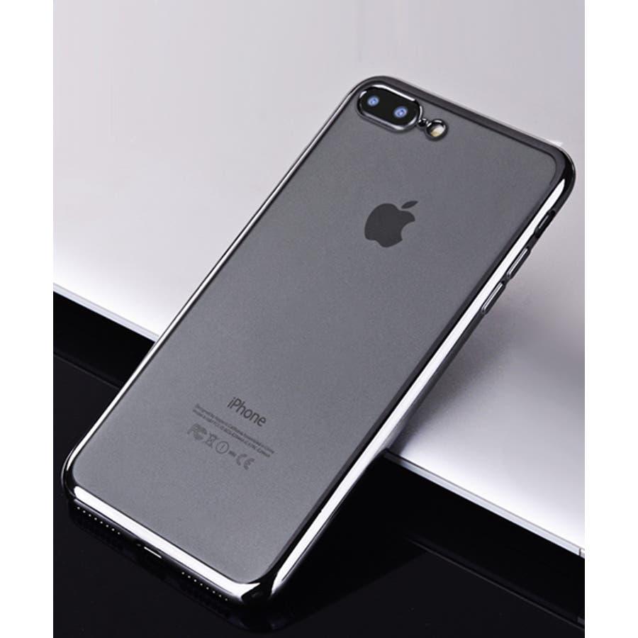 スマホケース iPhone7 iPhone8 iPhonex iPhone ケース iPhone6 6 6Plus 7 7Plus88Plus スマホケース x iPhoneケース iphoneカバー かわいい スマホケース スマホカバー おしゃれバンパー風背面クリア メタリック SE2 ipc169 6