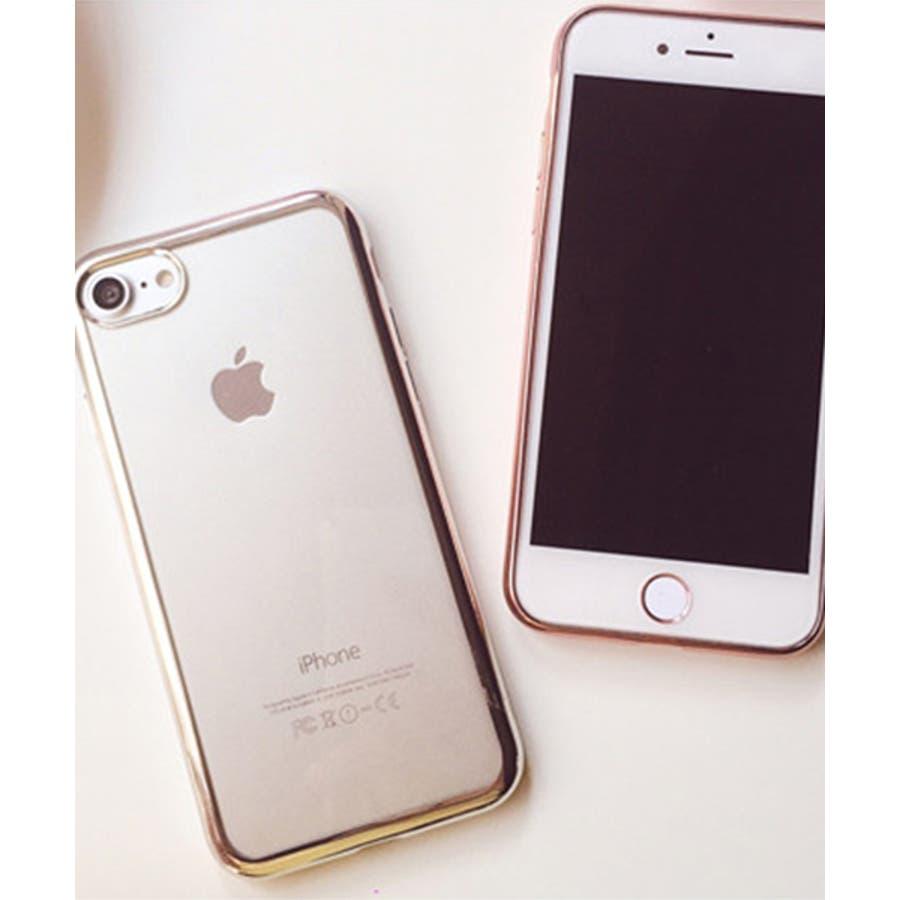 スマホケース iPhone7 iPhone8 iPhonex iPhone ケース iPhone6 6 6Plus 7 7Plus88Plus スマホケース x iPhoneケース iphoneカバー かわいい スマホケース スマホカバー おしゃれバンパー風背面クリア メタリック SE2 ipc169 7