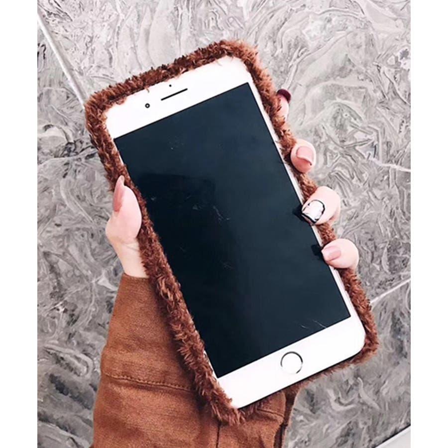 スマホケース iPhone7 iPhone8 iPhonex iPhone ケース iPhone6 6 6Plus 7 7Plus 88Plus スマホケース x iPhoneケース iphoneカバー かわいい スマホケース スマホカバー プードル風ボアカバーおしゃれ もふもふ SE2 ipc171 2