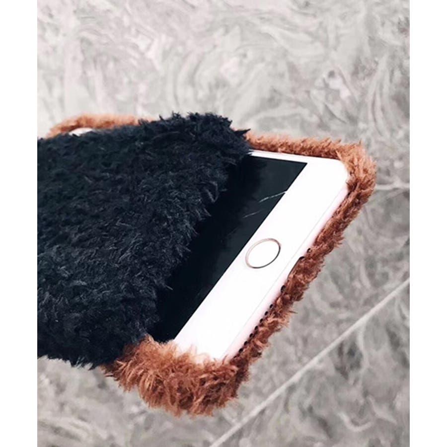 スマホケース iPhone7 iPhone8 iPhonex iPhone ケース iPhone6 6 6Plus 7 7Plus 88Plus スマホケース x iPhoneケース iphoneカバー かわいい スマホケース スマホカバー プードル風ボアカバーおしゃれ もふもふ SE2 ipc171 3