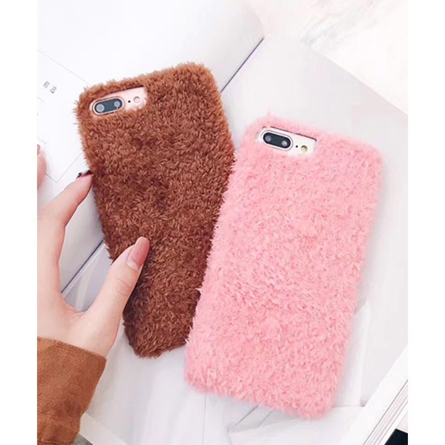 スマホケース iPhone7 iPhone8 iPhonex iPhone ケース iPhone6 6 6Plus 7 7Plus 88Plus スマホケース x iPhoneケース iphoneカバー かわいい スマホケース スマホカバー プードル風ボアカバーおしゃれ もふもふ SE2 ipc171 4