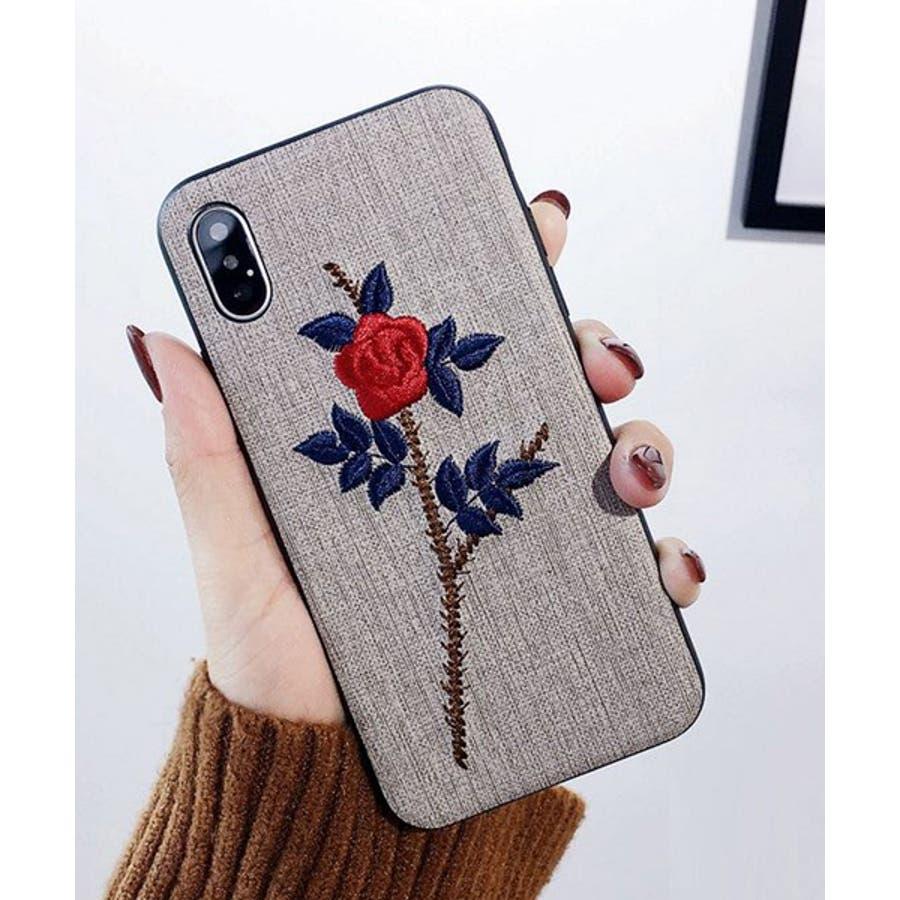 スマホケース iPhone7 iPhone8 iPhonex iPhone ケース iPhone6 6 6Plus 7 7Plus88Plus スマホケース x iPhoneケース アイフォン かわいい スマホケース スマホカバー おしゃれ お花 バラ 刺繍SE2ipc172 41