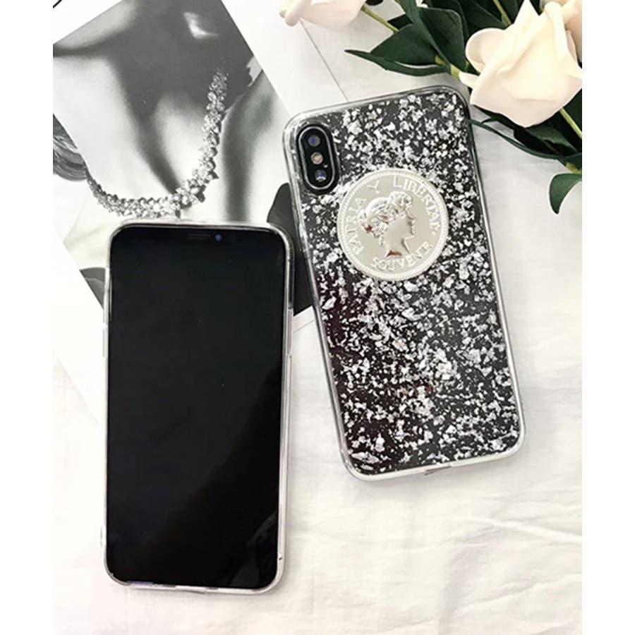 スマホケース iPhone7 iPhone8 iPhonex iPhone ケース iPhone6 6 6Plus 7 7Plus88Plus スマホケース x iPhoneケース アイフォン かわいい スマホケース スマホカバー ケース おしゃれ コインクリアキラキラ シルバー SE2 ipc202 8