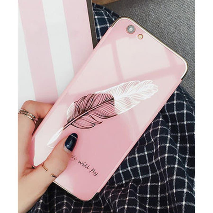 スマホケース iPhone7 iPhone8 iPhonex iPhone ケース iPhone6 6 6Plus 7 7Plus88Plus スマホケース x iPhoneケース iphoneカバー かわいい スマホケース スマホカバー おしゃれ 羽フェザーネイティブ ブラック ピンク ミラー SE2 ipc233 6