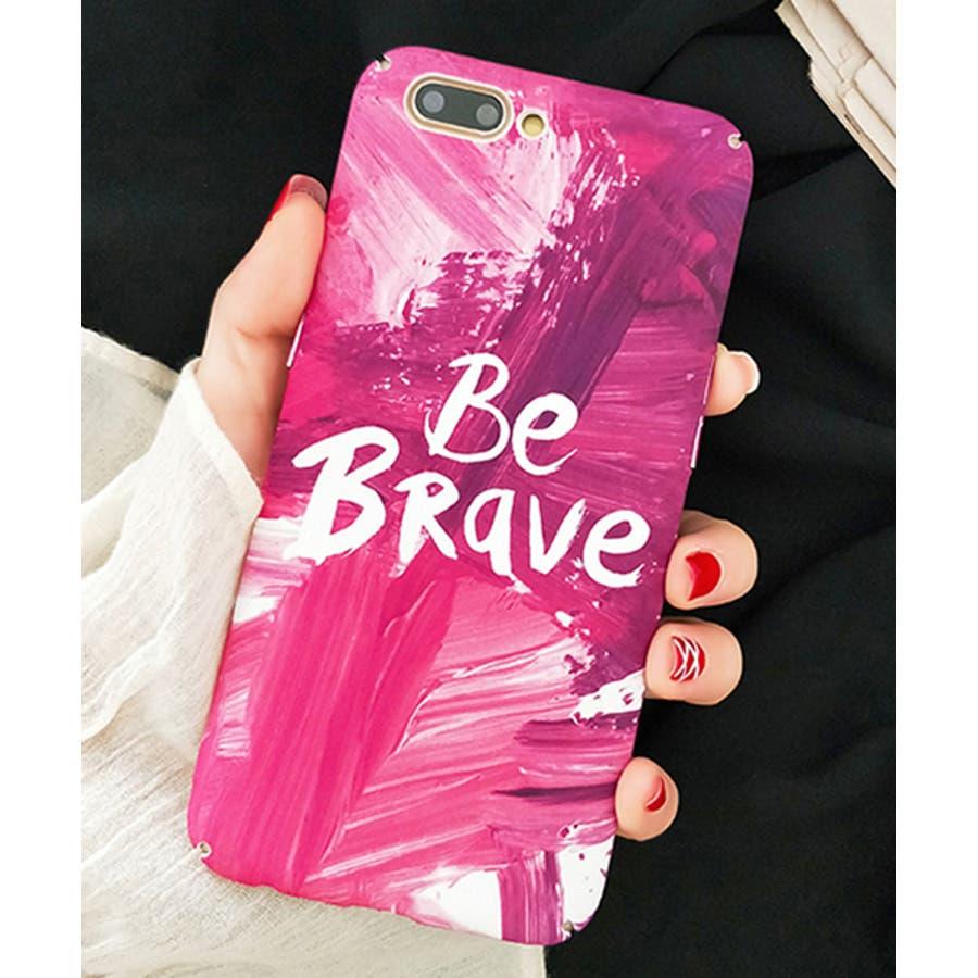 スマホケース iPhone7 iPhone8 iPhonex iPhone ケース iPhone6 6 6Plus 7 7Plus 88Plus スマホケース x iPhoneケース iphoneカバー かわいい スマホケース スマホカバー おしゃれ ピンク ペイントペンキ 筆 メッセージ ロゴ レタリング SE2 ipc258 3