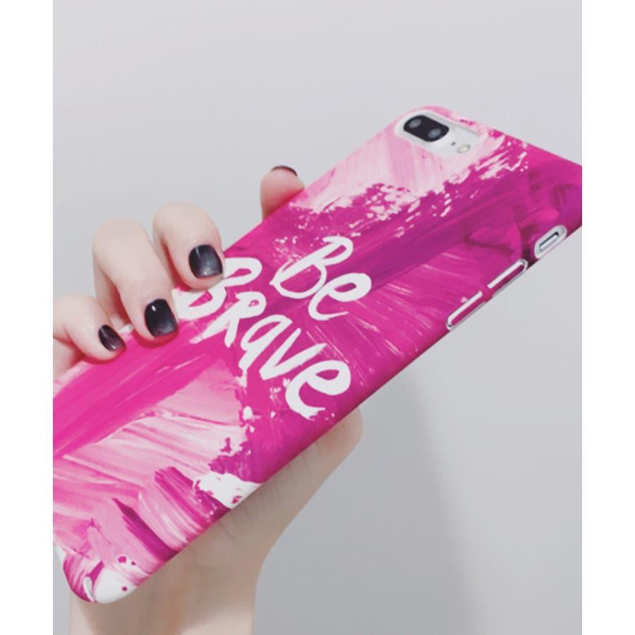スマホケース iPhone7 iPhone8 iPhonex iPhone ケース iPhone6 6 6Plus 7 7Plus 88Plus スマホケース x iPhoneケース iphoneカバー かわいい スマホケース スマホカバー おしゃれ ピンク ペイントペンキ 筆 メッセージ ロゴ レタリング SE2 ipc258 7