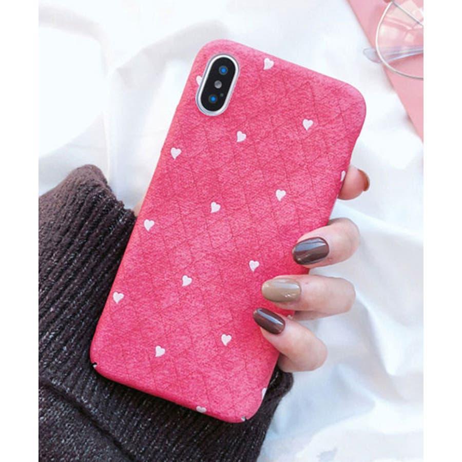 スマホケース iPhone7 iPhone8 iPhonex iPhone ケース iPhone6 6 6Plus 7 7Plus 88Plus スマホケース x iPhoneケース iphoneカバー かわいい スマホケース スマホカバー おしゃれ ピンク ホワイトハート ドット キルティング風 ダイヤ柄 SE2 ipc269 94
