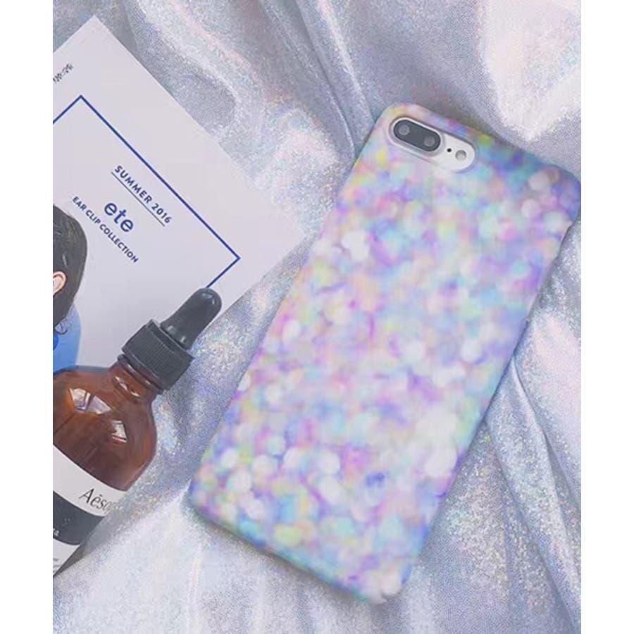 スマホケース iPhone7 iPhone8 iPhonex iPhone ケース iPhone6 6 6Plus 7 7Plus 88Plus スマホケース x iPhoneケース iphoneカバー かわいい スマホケース スマホカバー おしゃれ パープル ドット水玉 シャボン玉 風 オーロラ SE2 ipc272 1