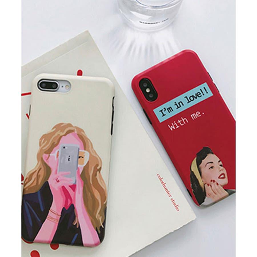 スマホケース iPhone7 iPhone8 iPhonex iPhone ケース iPhone6 6 6Plus 7 7Plus 88Plus x iPhoneケース アイフォン かわいい スマホカバー おしゃれ スマートフォンカバー iphoneケース 女の子イラスト SE2 ipc302 1