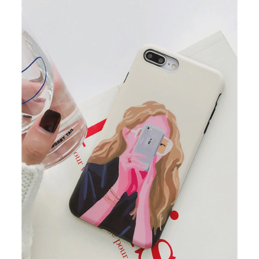 スマホケース iPhone7 iPhone8 iPhonex iPhone ケース iPhone6 6 6Plus 7 7Plus 88Plus x iPhoneケース アイフォン かわいい スマホカバー おしゃれ スマートフォンカバー iphoneケース 女の子イラスト SE2 ipc302 2