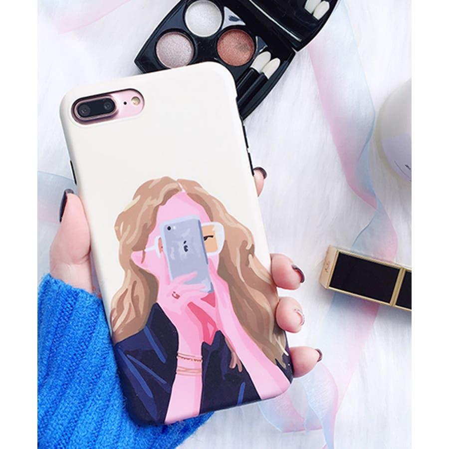 スマホケース iPhone7 iPhone8 iPhonex iPhone ケース iPhone6 6 6Plus 7 7Plus 88Plus x iPhoneケース アイフォン かわいい スマホカバー おしゃれ スマートフォンカバー iphoneケース 女の子イラスト SE2 ipc302 3