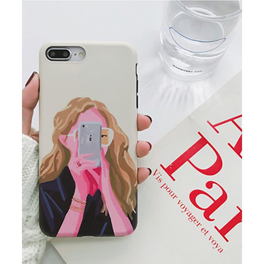 スマホケース iPhone7 iPhone8 iPhonex iPhone ケース iPhone6 6 6Plus 7 7Plus 88Plus x iPhoneケース アイフォン かわいい スマホカバー おしゃれ スマートフォンカバー iphoneケース 女の子イラスト SE2 ipc302 16