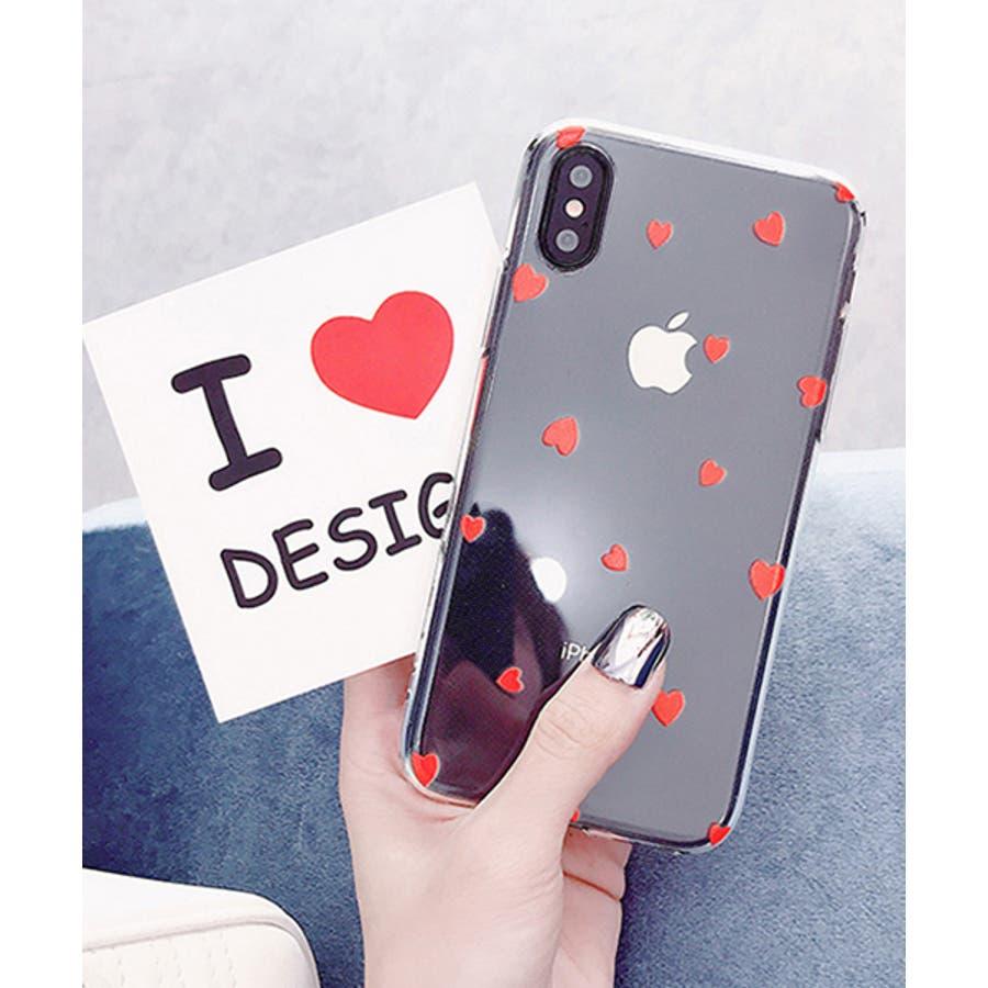 スマホケース iPhone7 iPhone8 iPhonex iPhone ケース iPhone6 6 6Plus 7 7Plus 88Plus x iPhoneケース アイフォン かわいい スマホカバー おしゃれ スマートフォンカバー iphoneケース ミニハート クリア SE2 ipc318 6