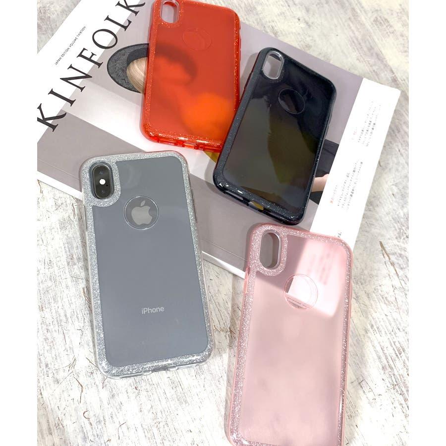 スマホケース iPhone7 iPhone8 iPhonex iPhone ケース iPhone6 6 6Plus 7 7Plus88Plus x iPhoneケース アイフォン かわいい スマホカバー おしゃれ スマートフォンカバーiphoneケースサイドグリッター ラメ クリア SE2 ipc354 1