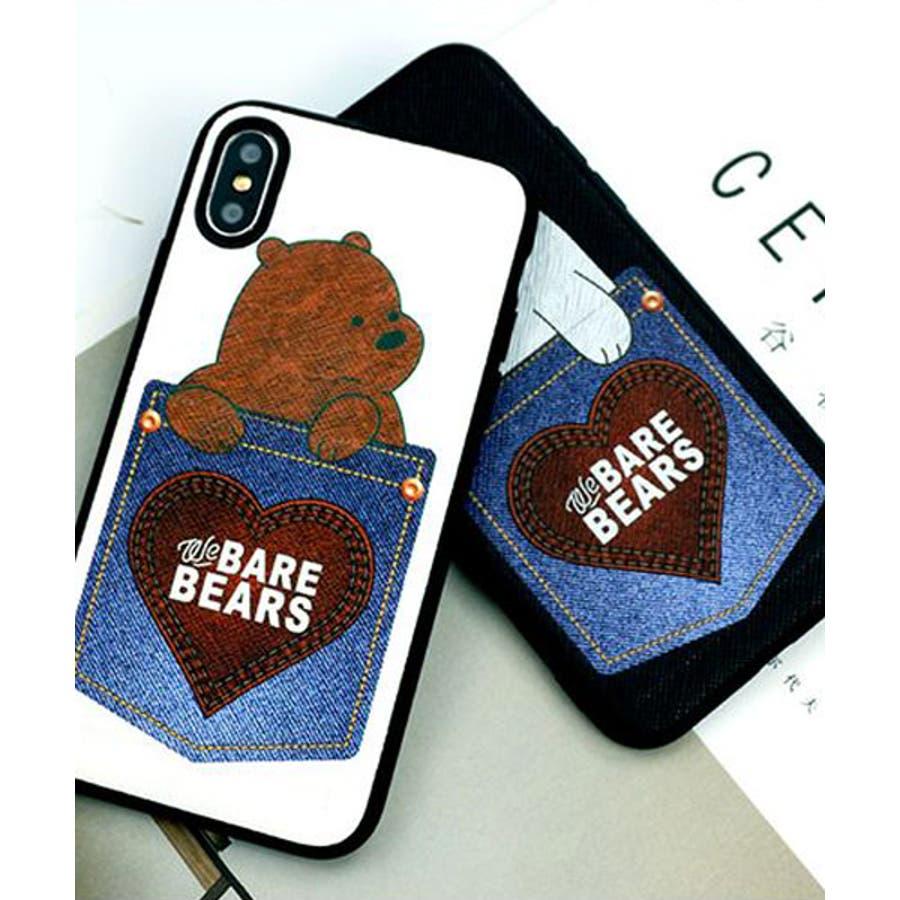 新作 スマホケース iPhone7 iPhone8 iPhonex iPhone ケース iPhone6 6 6Plus 77Plus8 8Plus x iPhoneケース アイフォン かわいい スマホカバー おしゃれ スマートフォンカバーiphoneケースカード収納 クマ パンダ ブラック ホワイト SE2 ipc462 1