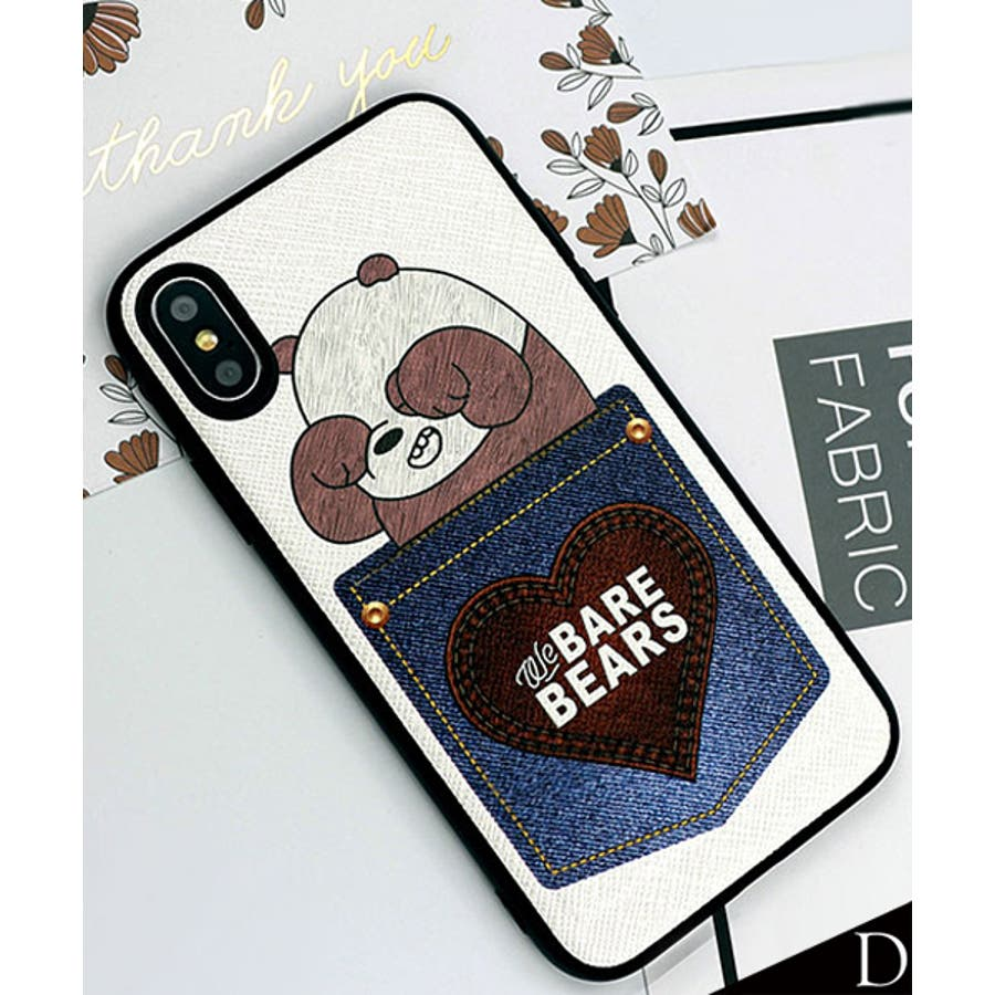 新作 スマホケース iPhone7 iPhone8 iPhonex iPhone ケース iPhone6 6 6Plus 77Plus8 8Plus x iPhoneケース アイフォン かわいい スマホカバー おしゃれ スマートフォンカバーiphoneケースカード収納 クマ パンダ ブラック ホワイト SE2 ipc462 20