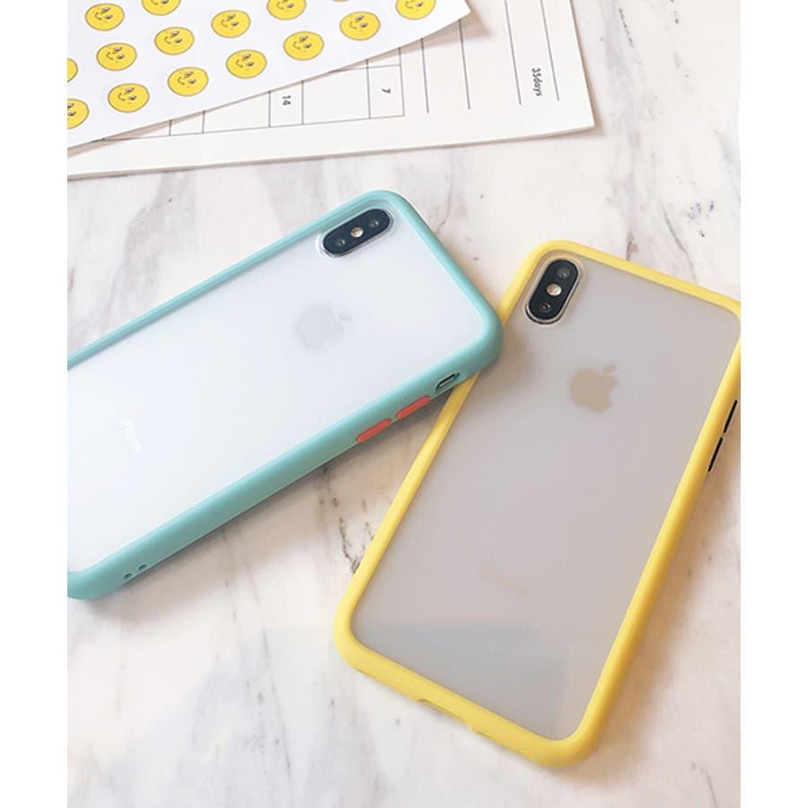スマホケース アイフォンケース スマホカバー アイフォンカバー iPhoneケース iPhonexrケース IphoneXs XRXs Max 7 7plus 8 8plus 10 11 11pro 11promax クリア 透明 バンパー風 フレーム 半透明無地 シンプル SE2 ipc486 2200 4