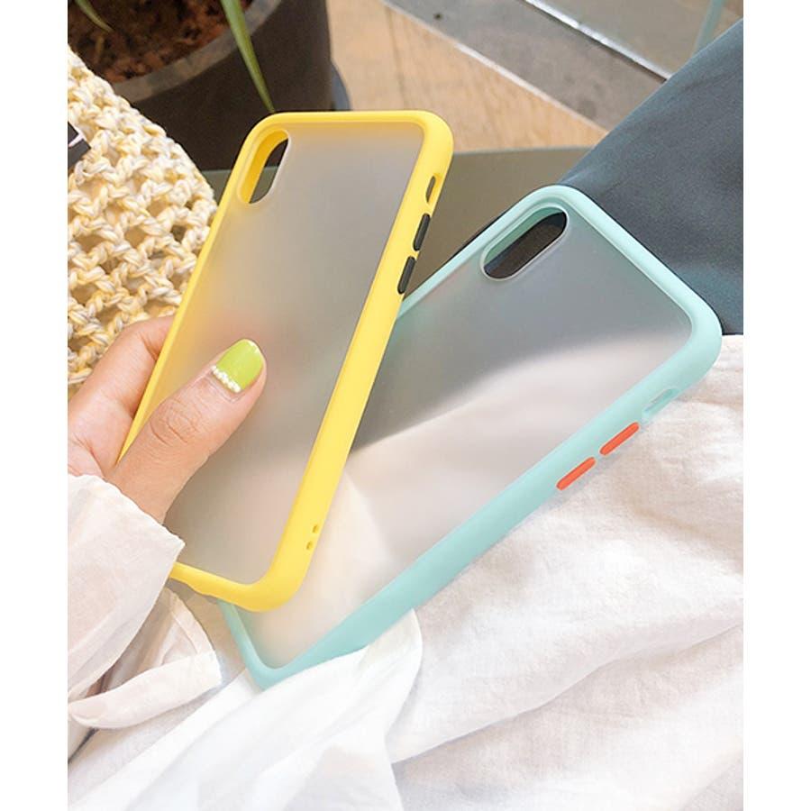 スマホケース アイフォンケース スマホカバー アイフォンカバー iPhoneケース iPhonexrケース IphoneXs XRXs Max 7 7plus 8 8plus 10 11 11pro 11promax クリア 透明 バンパー風 フレーム 半透明無地 シンプル SE2 ipc486 2200 6