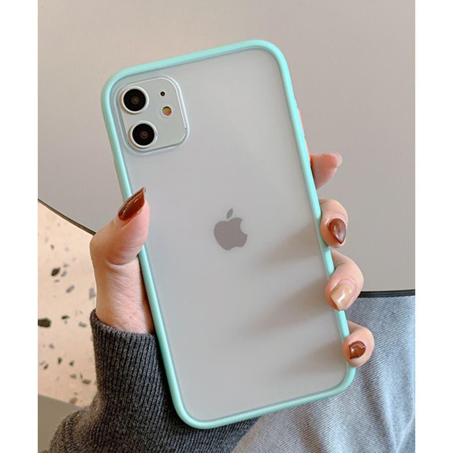 スマホケース アイフォンケース スマホカバー アイフォンカバー iPhoneケース iPhonexrケース IphoneXs XRXs Max 7 7plus 8 8plus 10 11 11pro 11promax クリア 透明 バンパー風 フレーム 半透明無地 シンプル SE2 ipc486 2200 59