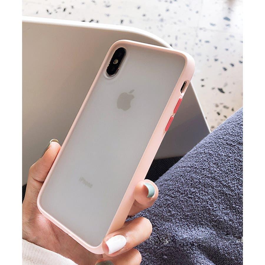 スマホケース アイフォンケース スマホカバー アイフォンカバー iPhoneケース iPhonexrケース IphoneXs XRXs Max 7 7plus 8 8plus 10 11 11pro 11promax クリア 透明 バンパー風 フレーム 半透明無地 シンプル SE2 ipc486 2200 87