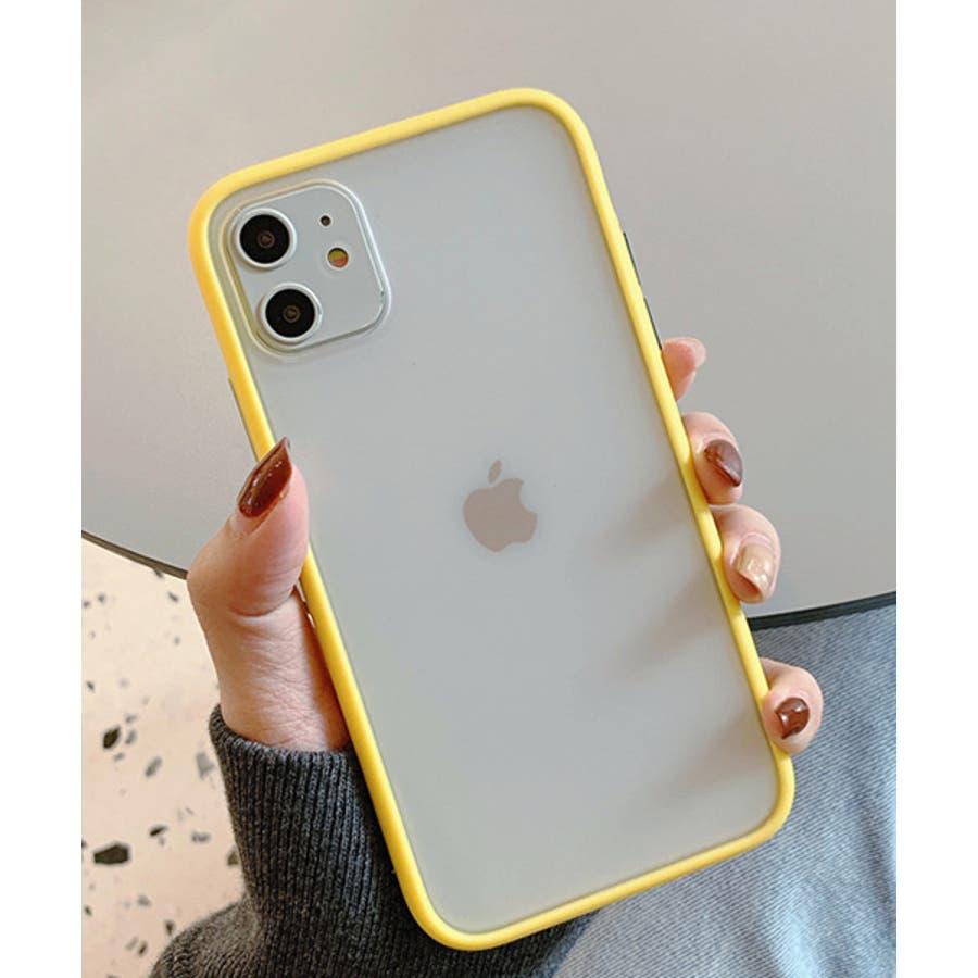 スマホケース アイフォンケース スマホカバー アイフォンカバー iPhoneケース iPhonexrケース IphoneXs XRXs Max 7 7plus 8 8plus 10 11 11pro 11promax クリア 透明 バンパー風 フレーム 半透明無地 シンプル SE2 ipc486 2200 83