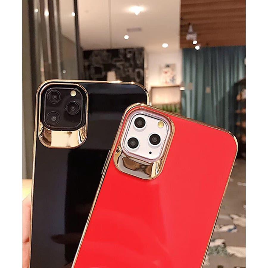 スマホケース アイフォンケース スマホカバー アイフォンカバー iPhoneケース iPhonexrケース IphoneXs XRXs Max 7 7plus 8 8plus 10 11 11pro 11promax フレームカラー ゴールド シンプル 無地SE2 ipc488 2480 2