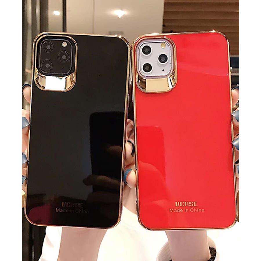スマホケース アイフォンケース スマホカバー アイフォンカバー iPhoneケース iPhonexrケース IphoneXs XRXs Max 7 7plus 8 8plus 10 11 11pro 11promax フレームカラー ゴールド シンプル 無地SE2 ipc488 2480 21