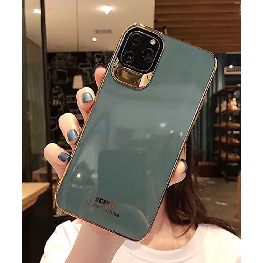 スマホケース アイフォンケース スマホカバー アイフォンカバー iPhoneケース iPhonexrケース IphoneXs XRXs Max 7 7plus 8 8plus 10 11 11pro 11promax フレームカラー ゴールド シンプル 無地SE2 ipc488 2480 23