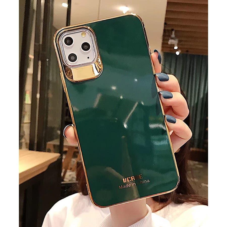 スマホケース アイフォンケース スマホカバー アイフォンカバー iPhoneケース iPhonexrケース IphoneXs XRXs Max 7 7plus 8 8plus 10 11 11pro 11promax フレームカラー ゴールド シンプル 無地SE2 ipc488 2480 47