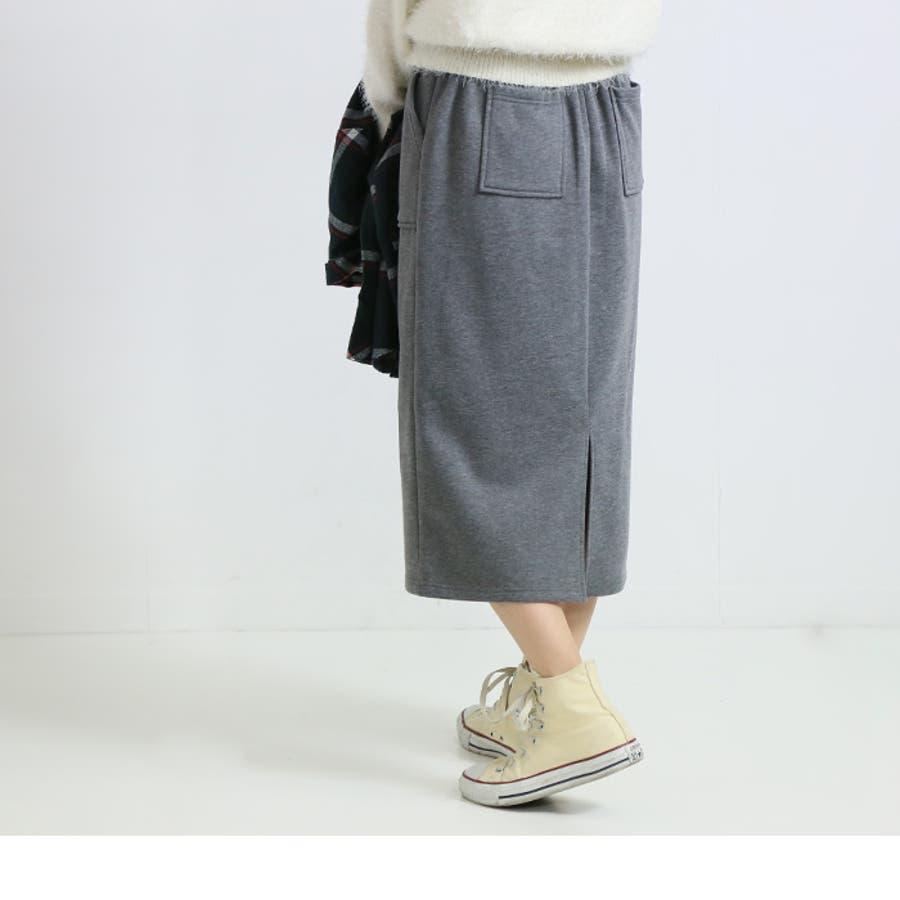 すご暖ナロースカート◆スカート ナロースカート タイトスカート 23