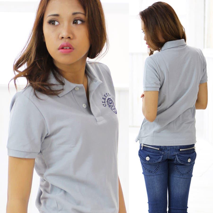 ポロシャツ レディース 半袖 ポロシャツ メンズ 白uvカットレディースポロシャツ