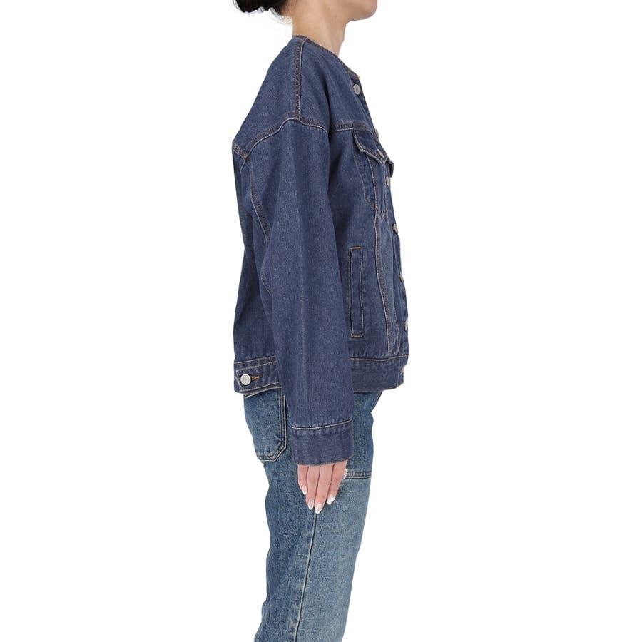 デニムジャケット レディース 長袖 5