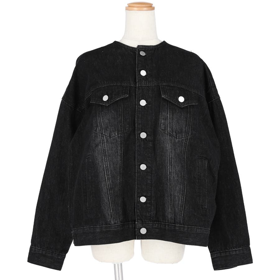 デニムジャケット レディース 長袖 2