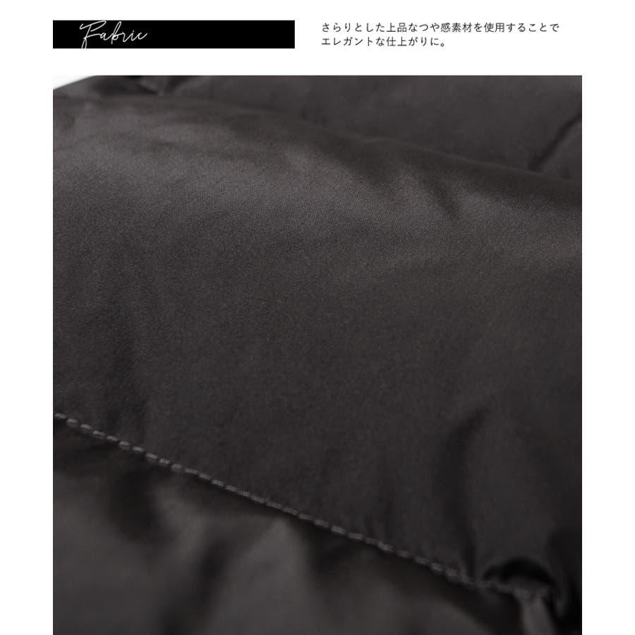 ウエストリボンリアルファーロング丈ダウンコートcocaオリジナル/yokoさん着用(リアルダウン フード付き M/L 19aw コカ) 7