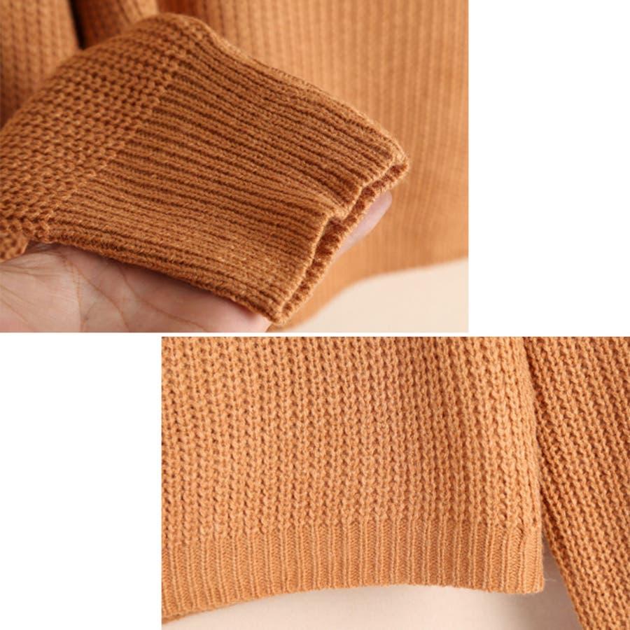ショート丈ニットセーターma セーター トップス 9